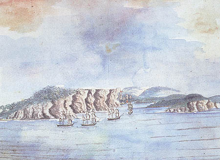 The First Fleet brought British law as well as British convicts