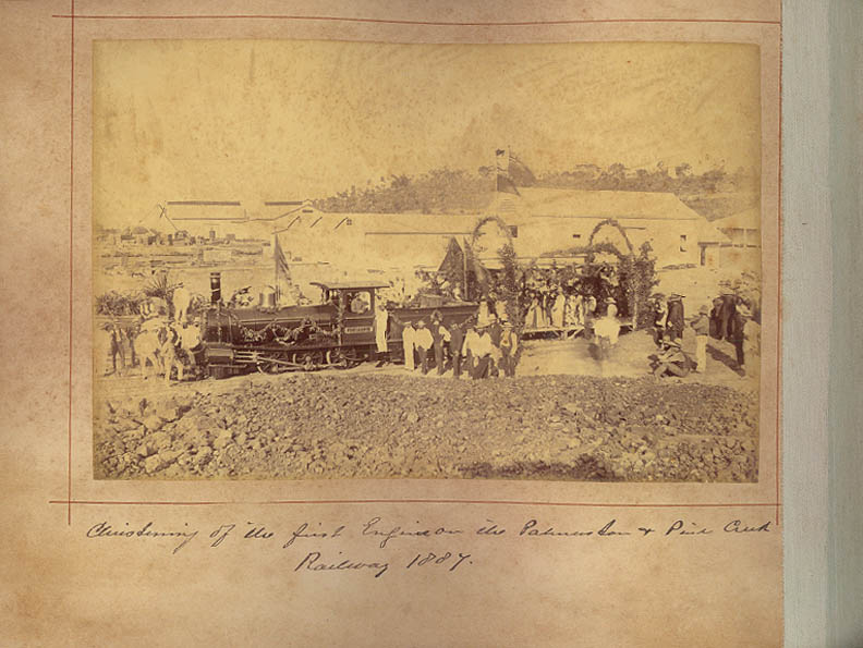 The first engine of the first Northern Territory railway was named Port Darwin