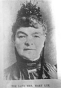 Mary Lee arrived in South Australia in 1879 at the age of 58