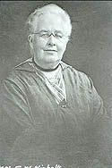 Elizabeth Webb Nicholls was a leader of the Woman's Christian Temperance Union