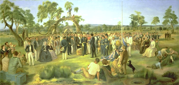'The Proclamation of South Australia'