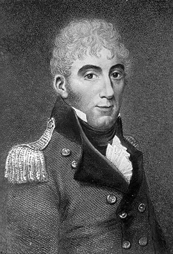 Colonel David Collins arrived with the First Fleet in 1788